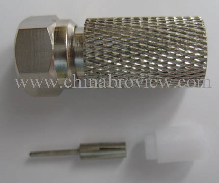 F Connector for RG58,RG59,RG6,RG11