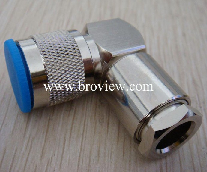 RIGHT ANGLE N MALE TO N FEMALE CONNECTOR