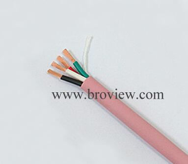 4 Core Pink Round Speaker Cable